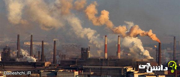تأثیر افزایش کربن دی اکسید بر دمای کره زمین
