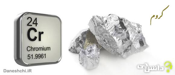کروم Cr24 ، عنصری از جدول تناوبی