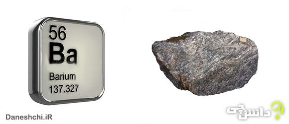 عنصر باریم Ba 56، عنصری از جدول تناوبی