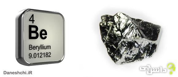 بریلیم Be 4، عنصری از جدول تناوبی