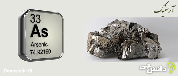 عنصر آرسنیک As 33، عنصری از جدول تناوبی
