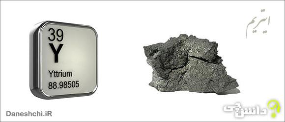 عنصر ایتریم Y 39، عنصری از جدول تناوبی