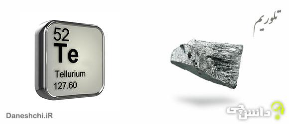 عنصر تلوریم Te 52، عنصری از جدول تناوبی