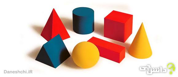 فرمول اشکال هندسی - حجم، محیط و مساحت