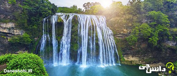 تحقیق در مورد پدیده آبشار و انواع آن
