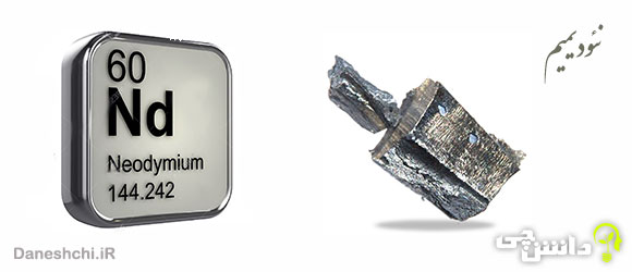 نئودیمیم Nd 60، عنصری از جدول تناوبی