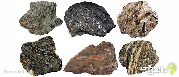 سنگ های دگرگونی
