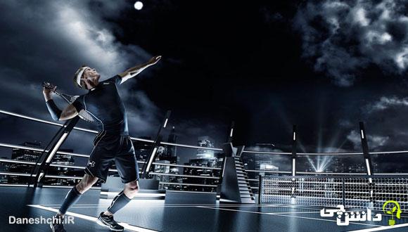 تحقیق در مورد ورزش تنیس