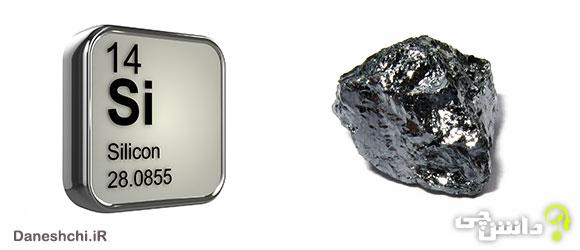 سیلسیم Si 14، عنصری از جدول تناوبی
