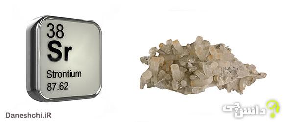 استرانسیم Sr 38،عنصری از جدول تناوبی