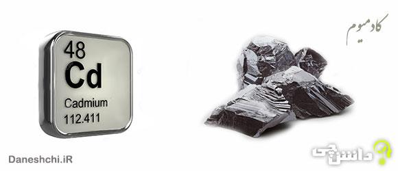 عنصر کادمیوم Cd 48، عنصری از جدول تناوبی