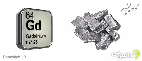 عنصر گادولینیوم Gd 64، عنصری از جدول تناوبی