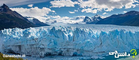 تحقیق در مورد یخچال های طبیعی