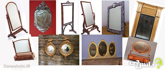 تحقیق در مورد آینه ها